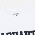 Мужская футболка Carhartt WIP S/S College White/Black фото- 1