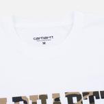 Мужская футболка Carhartt WIP S/S College White/Camo Duck фото- 1