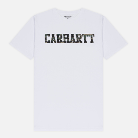 Мужская футболка Carhartt WIP S/S College White/Camo Tiger Laurel