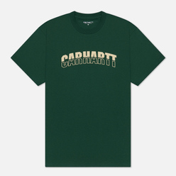 Мужская футболка Carhartt WIP S/S District Treehouse/Fresco