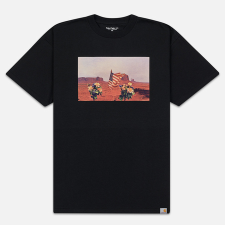 Мужская футболка Carhartt WIP S/S Matt Martin Flags Black