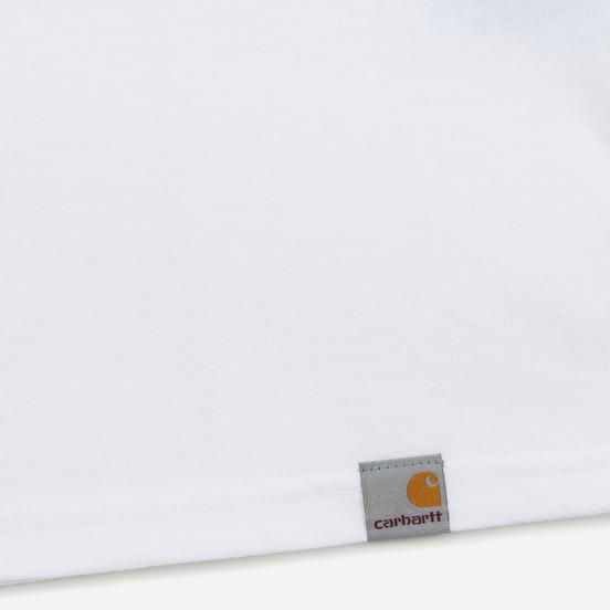 Мужская футболка Carhartt WIP S/S Matt Martin Flags White