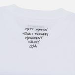 Мужская футболка Carhartt WIP S/S Matt Martin Flags White фото- 4