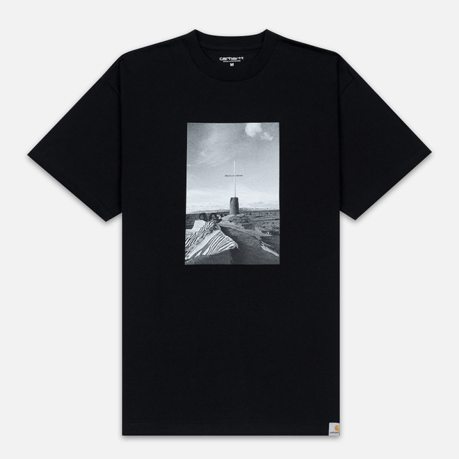 Мужская футболка Carhartt WIP S/S Matt Martin Salvation Black/White