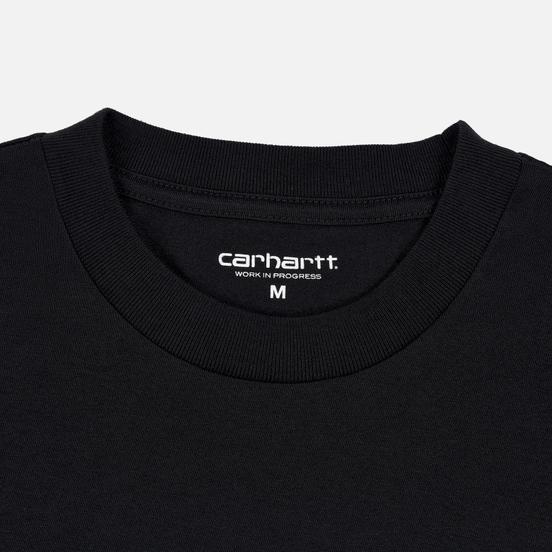 Мужская футболка Carhartt WIP S/S Matt Martin Salvation Black/White