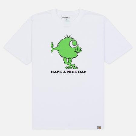 Мужская футболка Carhartt WIP S/S Nice Day White