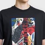 Мужская футболка Carhartt WIP S/S Patchwork Black фото- 3