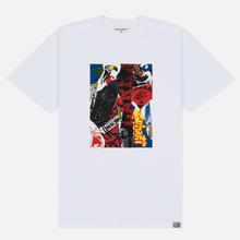 Мужская футболка Carhartt WIP S/S Patchwork White фото- 0