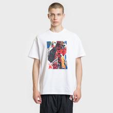 Мужская футболка Carhartt WIP S/S Patchwork White фото- 1