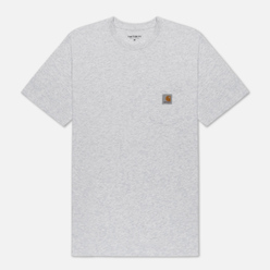 Мужская футболка Carhartt WIP S/S Pocket Ash Heather