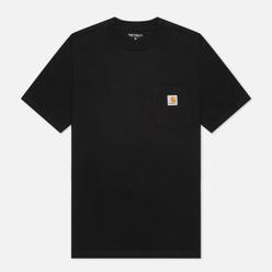 Мужская футболка Carhartt WIP S/S Pocket Black