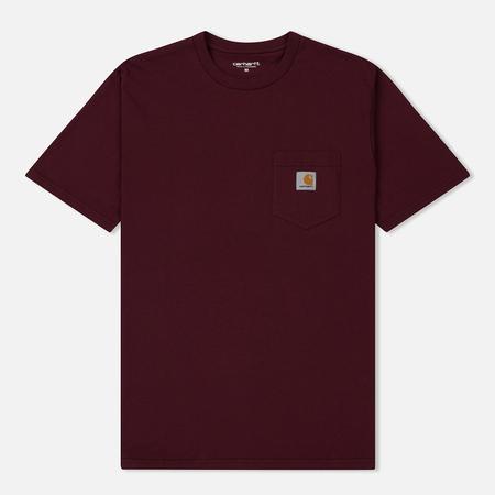 Мужская футболка Carhartt WIP S/S Pocket Chianti