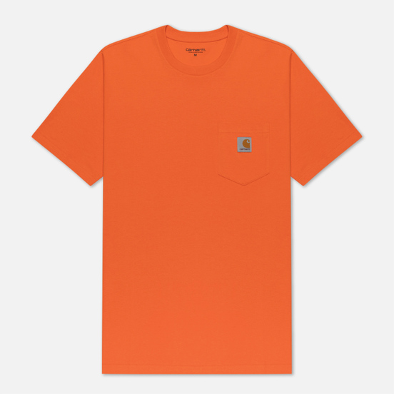 Мужская футболка Carhartt WIP S/S Pocket Clockwork