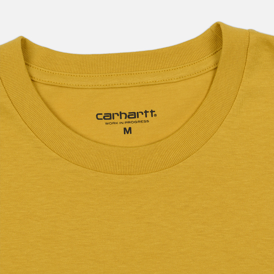 Мужская футболка Carhartt WIP S/S Pocket Colza