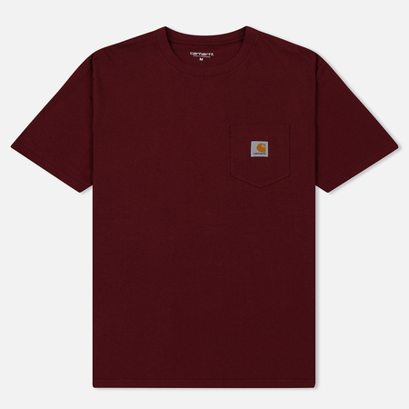 Мужская футболка Carhartt WIP S/S Pocket Cranberry
