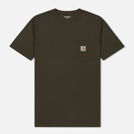 Мужская футболка Carhartt WIP S/S Pocket Cypress