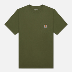 Мужская футболка Carhartt WIP S/S Pocket Dollar Green