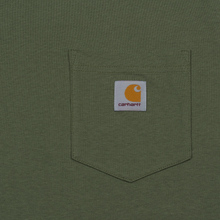 Мужская футболка Carhartt WIP S/S Pocket Dollar Green фото- 2