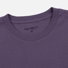 Мужская футболка Carhartt WIP S/S Pocket Dusty Mauve фото- 1