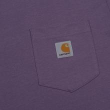 Мужская футболка Carhartt WIP S/S Pocket Dusty Mauve фото- 2