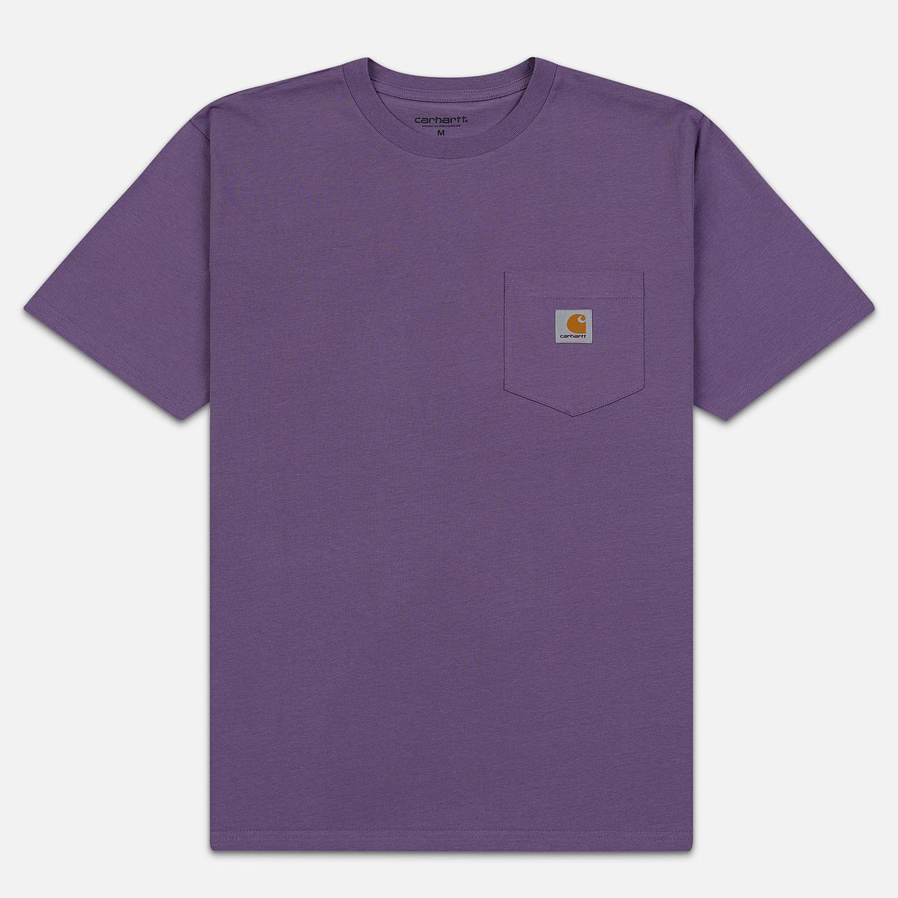 Мужская футболка Carhartt WIP S/S Pocket Dusty Mauve