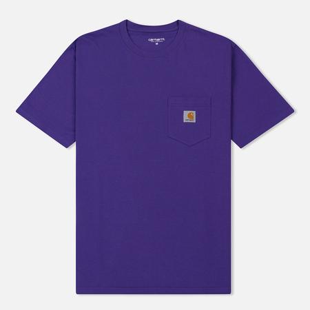 Мужская футболка Carhartt WIP S/S Pocket Frosted Viola