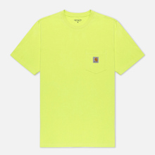 Мужская футболка Carhartt WIP S/S Pocket Lime фото- 0