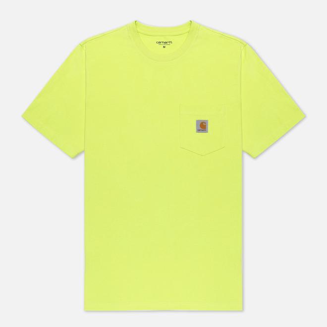 Мужская футболка Carhartt WIP S/S Pocket Lime