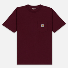 Мужская футболка Carhartt WIP S/S Pocket Merlot фото- 0