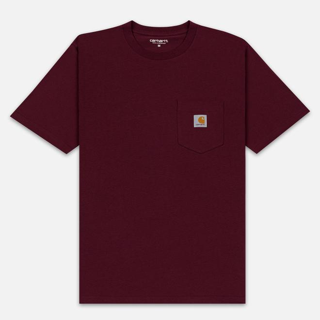 Мужская футболка Carhartt WIP S/S Pocket Merlot