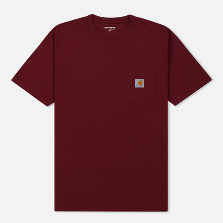 Мужская футболка Carhartt WIP S/S Pocket Mulberry