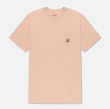 Мужская футболка Carhartt WIP S/S Pocket Powdery фото- 0