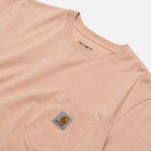 Мужская футболка Carhartt WIP S/S Pocket Powdery фото- 1