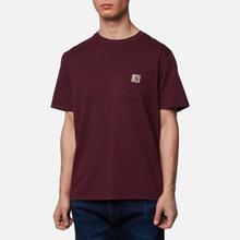 Мужская футболка Carhartt WIP S/S Pocket Shiraz фото- 0