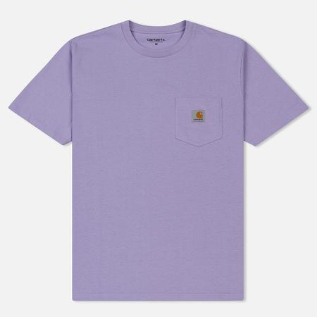 Мужская футболка Carhartt WIP S/S Pocket Soft Lavender