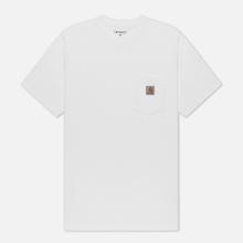 Мужская футболка Carhartt WIP S/S Pocket White фото- 0