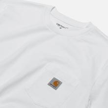 Мужская футболка Carhartt WIP S/S Pocket White фото- 1