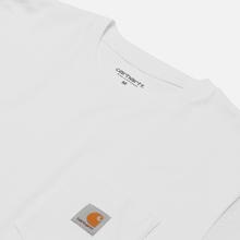 Мужская футболка Carhartt WIP S/S Pocket White фото- 2