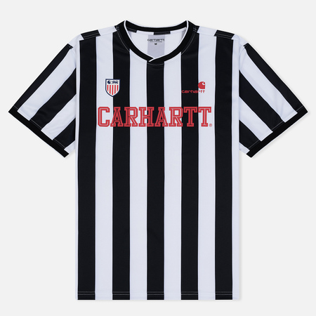 Мужская футболка Carhartt WIP S/S Striker 4.4 Oz White/Black