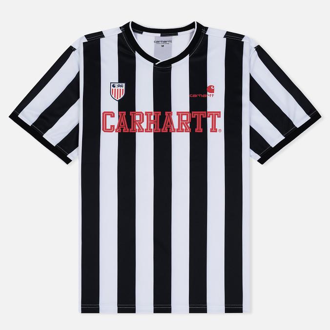 Мужская футболка Carhartt WIP S/S Striker 4.4 Oz White/Black
