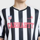 Мужская футболка Carhartt WIP S/S Striker 4.4 Oz White/Black фото- 3