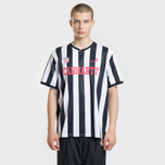 Мужская футболка Carhartt WIP S/S Striker 4.4 Oz White/Black фото- 1