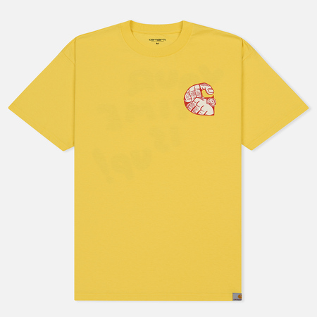Мужская футболка Carhartt WIP S/S Time Is Up Primula
