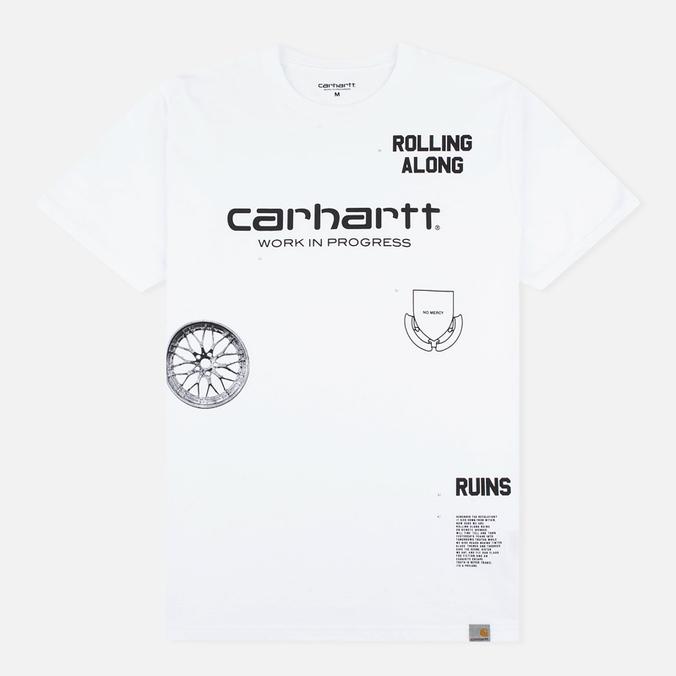 Мужская футболка Carhartt WIP SS Carrie Ruins White/Black