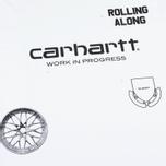 Мужская футболка Carhartt WIP SS Carrie Ruins White/Black фото- 2