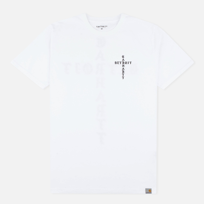 Мужская футболка Carhartt WIP SS Cross White/Black