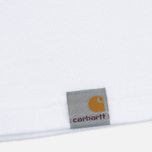 Мужская футболка Carhartt WIP SS Cross White/Black фото- 4