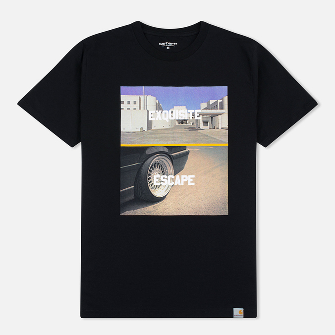 Мужская футболка Carhartt WIP SS Jail Black/Multicolour