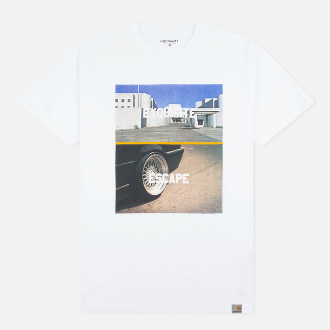 Мужская футболка Carhartt WIP SS Jail White/Multicolour