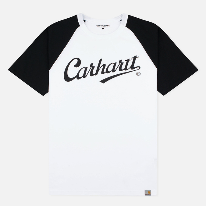 Мужская футболка Carhartt WIP SS League White/Black